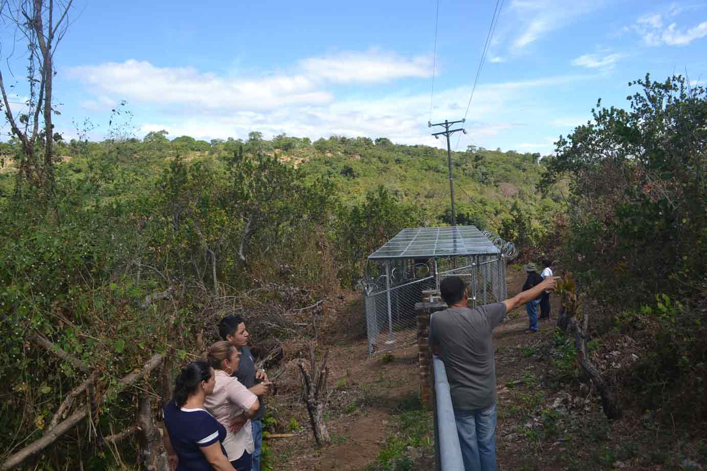 Solar-Power Water System in Aguacayo, El Salvador